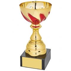 GOLD AND RED PRESENTATION CUP 1052-TWT