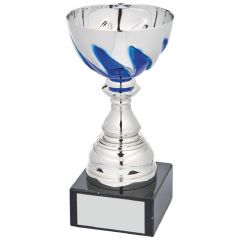 SILVER AND BLUE PRESENTATION CUP 1053-TWT