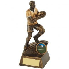 Male Rugby Player Trophy