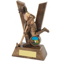Female Hockey Trophy RS506-TWT