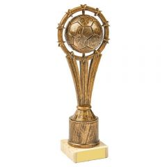 SPINNING BALL FOOTBALL TROPHY 1026A-TWT