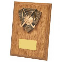 WOODEN PLAQUE HOCKEY AWARD 1270-TWT