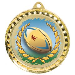 RUGBY QUALITY MEDAL MD077-TWT