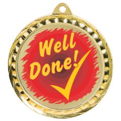 WELL DONE QUALITY MEDAL MD082-TWT