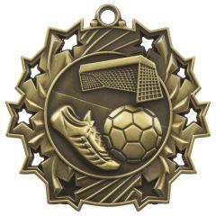 FOOTBALL STAR MEDAL MD852-TWT