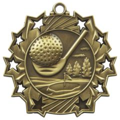 GOLF STAR MEDAL MD854-TWT