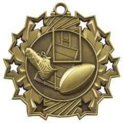 RUGBY STAR MEDAL MD857-TWT