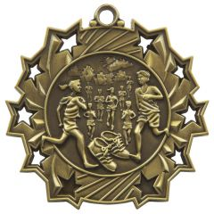 RUNNING STAR MEDAL MD858-TWT