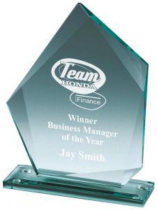 Premium Jade Glass Award T.7769-TWT
