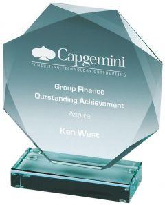 Premium Jade Glass Award T.7123-TWT