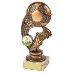 FOOTBALL BOOT AND BALL TROPHY 744E-TWT