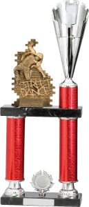STREET DANCE RED TROPHY A0196-GWT