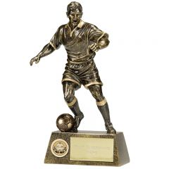 Pinnacle Male Football Trophy A1090A-GW