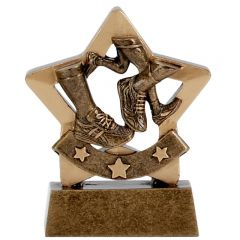 Mini Star Running Trophy A1104-GW