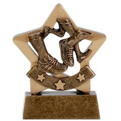 Mini Star Running Trophy A1104-GW