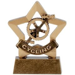 Mini Star Cycling Trophy A1108-GW