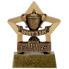 Mini Star Sports Day Trophy A1114-GW