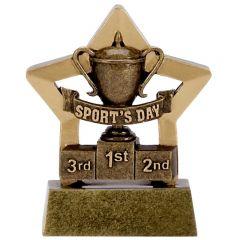 Mini Star Sports Day Trophy A1114-GW