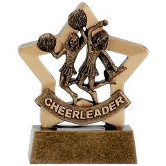 Mini Star Cheerleader Trophy A1125-GW