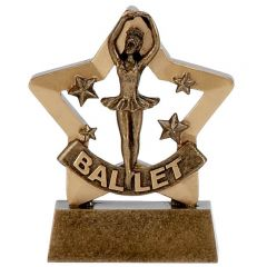 Mini Star Ballet Trophy A1127-GW