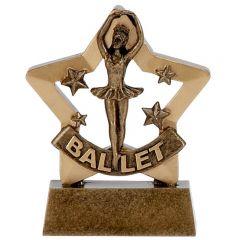 Mini Star Ballet Trophy A1127-GW