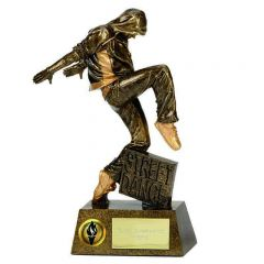 PINNACLE STREET DANCE TROPHY A1273-GW