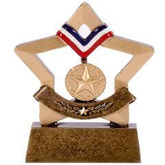 Mini Star Medal Trophy A1635-GW
