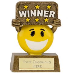 Happy Chappies Winner Trophy A1641-GW