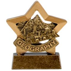 Mini Star Geography Trophy A1669-GW