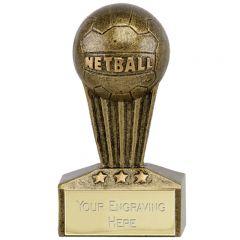 Micro Netball Trophy A1727-GW