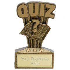 Micro Quuiz Trophy A1741-GW