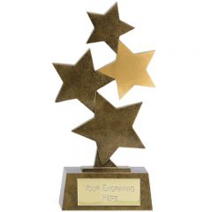 Starburst Trophy A1790-GW