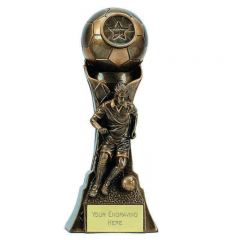 GENESIS MALE FOOTBALLER TROPHY A4039A-GW