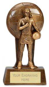 Netball Trophy A1857A-GW