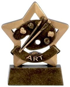Mini Star Art Trophy A946-GW