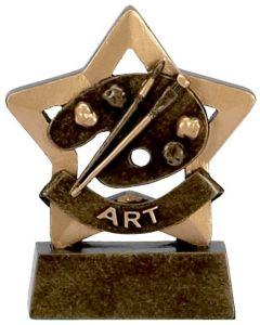 Mini Star Art Trophy A946-GW