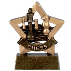 Mini Star Chess Trophy A952-GW