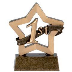 Mini Star 1st 2nd 3rd Trophies A955-GW