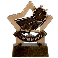 Mini Star Swimming Trophy A960-GW