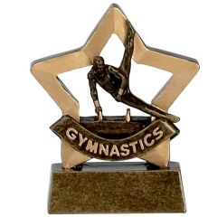 Mini Star Male Gymnastics Trophy A961-GW