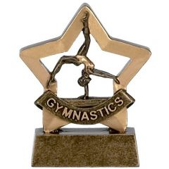 Mini Star Female Gymnastics Trophy A962-GW