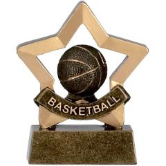 Mini Star Basketball Trophy A964-GW