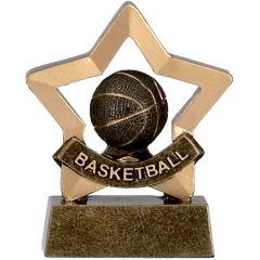 Mini Star Basketball Trophy A964-GW