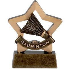 Mini Star Badminton Trophy A967-GW