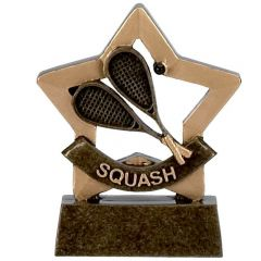Mini Star Squash Trophy A970-GW
