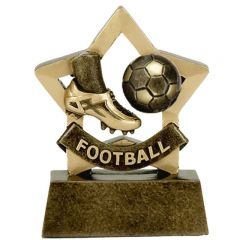 Mini Star Football Trophy A971-GW