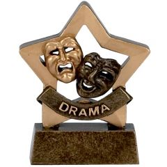 Mini Star Drama Trophy A972-GW