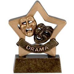 Mini Star Drama Trophy A972-GW