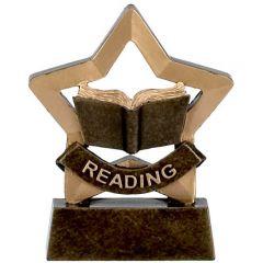 Mini Star Reading Trophy A973-GW