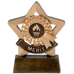 Mini Star Merit Trophy A975-GW